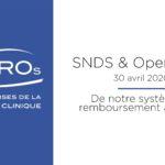 SNDS & Open Data