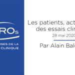 Les patients, acteurs clés des essais cliniques