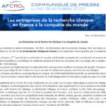 Les Entreprises de la Recherche Clinique en France à la conquête du monde