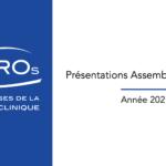 Présentations de l'Assemblée Générale 2021